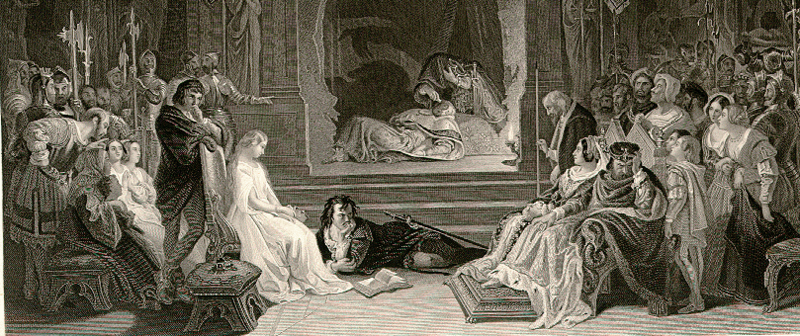 fear and inaction in act ii scene 2 of hamlet a play by william shakespeare